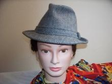 Mens Fedora   Hat   Classic  Wool Tweed