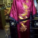 Silk Robe Never Worn REVERSIBLE Magnificent Embroidery