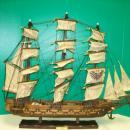 Antique Spanish Frigate Warship Model - FINE MUSEUM QUALITY  27