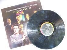 Signed Signature Tennessee Ernie Ford on 'SPIRITUALS' Album
