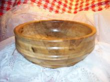 Rare Rare Spalted Black Gum Wood Bowl Hand Made from Old Old BLACK GUM TREE IN AR
