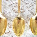 Wm Rogers 6 Gold Plated Presidential Spoons NEW-NEVER USED CONDITION