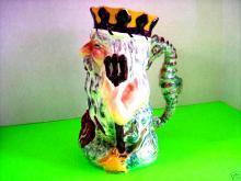Tall Character Mug  Staffordshire KING Neptune - Shorter & Son English Staffordshire