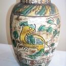 Chinese 16th or 17th Century Chinese Stoneware Storage Jar Incised and Painted  13