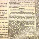 New York Tribune Issue 7-22-1861-Printed on Same Prtg Press as Original, in 1961-Free Shipping