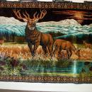 King Farouk Treasure Signed Lebanese Silk Tapestry 72