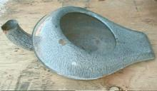 Grey GRANITEWARE Bedpan - Antique - OLD!