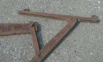 JOHN DEERE Evener  Steel - 3 Horse - OLD!