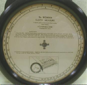 BAKELITE Wonder Cloth Measure General Store - OLD!