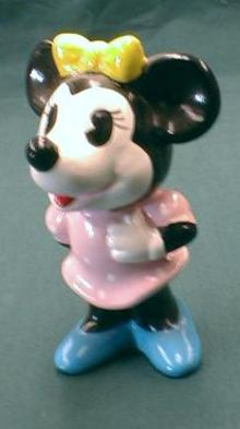 Minnie Mouse Figurine Walt Disney Production