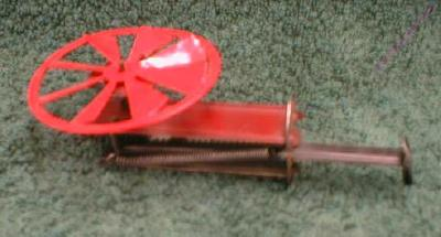 Toy Spinning Wheel Antique  Child's - Tin/ Plastic