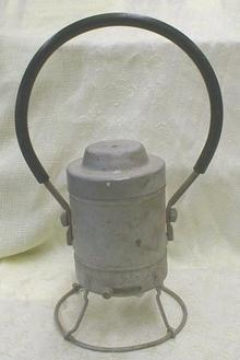 ADLAKE Railroad Lantern / Lamp Old 1933