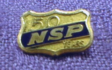 Old NSP Northern States Power 50 Year Pin