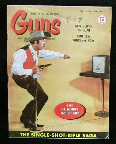 GUNS Hunting Magazine Winchester 1959
