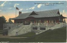1915 Railroad Depot Tacoma WA Post Card