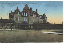 CM&StP Railroad Depot La Crosse WI - Old Post Card