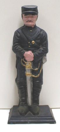 CAST IRON Civil War Soldier