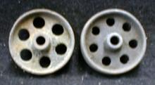Old Steamroller Wheels 1 3/4