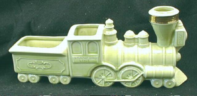 Old STANFORD LINE Engine & Tender Planter