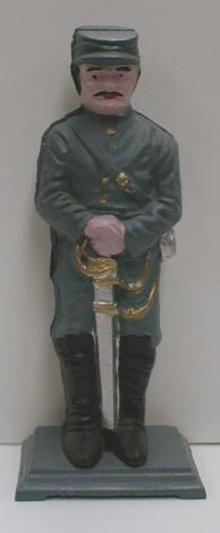 CAST IRON Civil War Soldier - NICE!