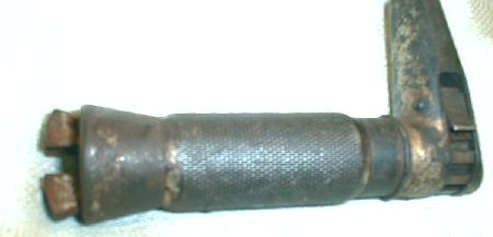 VERY OLD Brace w/ Wood Knob & Handle Carpenter Tool