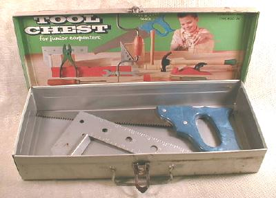 American Tool Chest OLD 1950's Boy's Toy