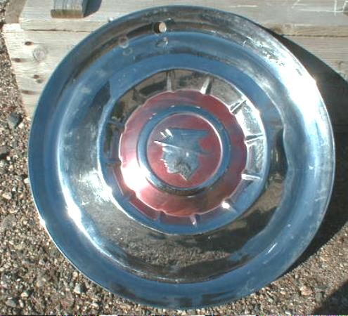 1 Single Hub Cap for Older MERCURY