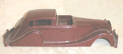 Old MARX Toy Plastic Car Body