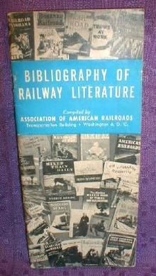 Old 1950 Railway Literature Railroad Booklet