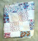 Old Patchwork Quilt Top Cotton Stitched Homemade