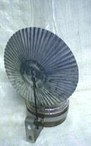 Glass Oil Lamp w/ Bracket Tin Reflector GUARANTEED Old