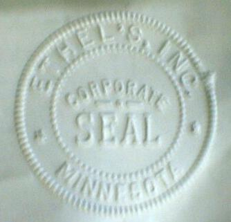 Old Ethel's Corporate Seal Minnesota Pocket Seal Pouch