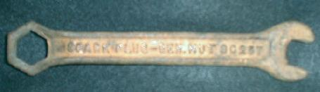 OLD General Nut Spark Plug Wrench  Antique CAST IRON