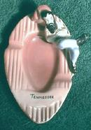 Old TENNESSEE Hillbilly Ashtray Souvenir