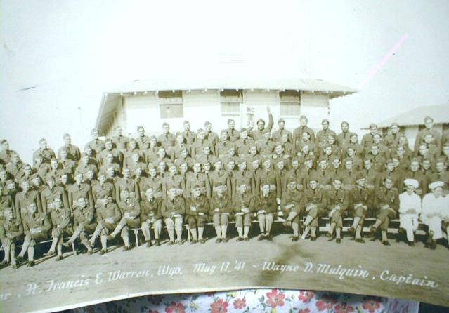 Old WWII Photo Ft. Francis & Warren Wyoming Military Panoramic RC G2