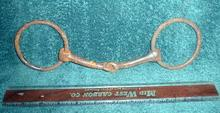 Old Antique Iron Horse Bit - Large