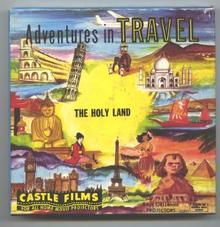 The HOLY LAND Old  8mm Castle Films Movie ORIGINAL Box
