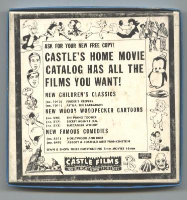 The HOLY LAND Old  8mm Castle Films Movie ORIGINAL Box