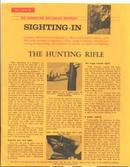 Old 1960 NRA American Rifleman Sighting-In Day Literature