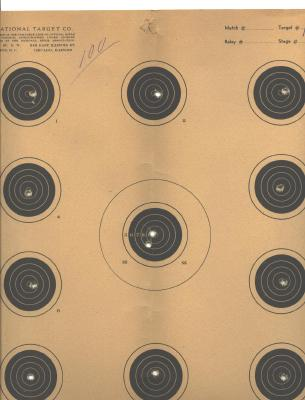 Old 1953 NRA Gallery Rifle Championship Mpls. MN Literature