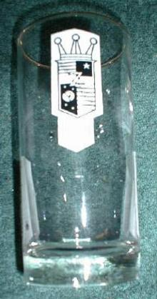 4 Old ZENITH Radio & Television Advertising Water GLASSES