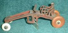 Old KENTON Cast Iron Road Grader Construction Toy