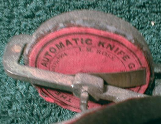 ROSE Automatic Knife Grinder / Sharpener No. 7- Old 1904