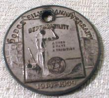 Old DODGE Silver Anniversary Token 1914 - 1939