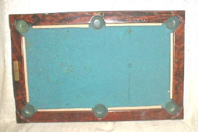 Old Gotham Billiard Toy Game Board Table Portable