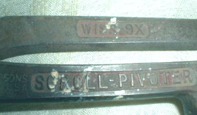 Old Scroll Pivoter Wiss 9X Snips Tool w/ Finger Hole