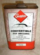 1950's NOS Can Champion CONVERTIBLE Top Dressing Black