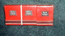 Rock Island Railroad 6 NOS Paper Matchbooks Railway