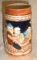 Old Beer Stein Mug Cup JAPAN