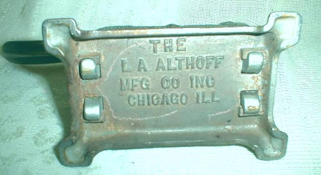 DOG NUT CRACKER Altoff Antique Nickle-Plated Cast Iron